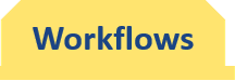 Workflows tab